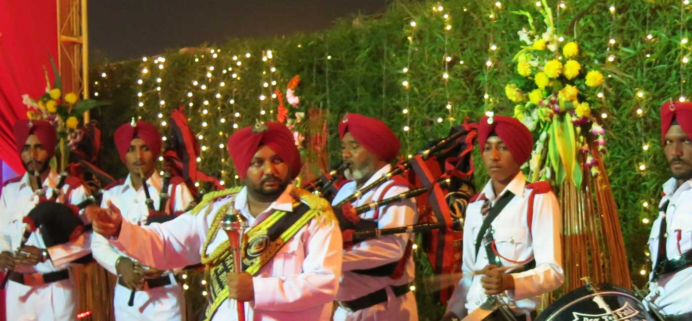 Bagpipe Band in Delhi